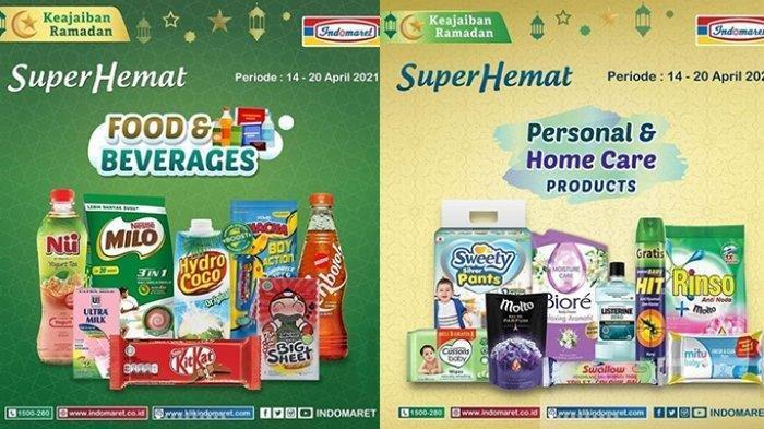 Promo Indomaret Hari Ini Super Hemat hingga 20 April 2021, Harga di Luar Jawa Tambah Rp 1000