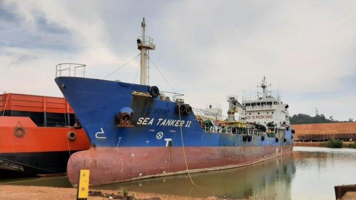 Palsukan Surat Pelayaran, Kapal Tanker MT SEA Diamankan Ditpolair Polda Kepri