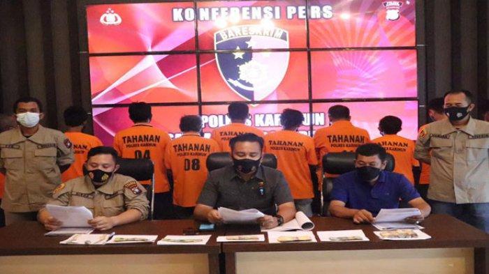 10 Orang di Karimun Ditangkap Polisi terkait Operasi Premanisme dan Saber Pungli