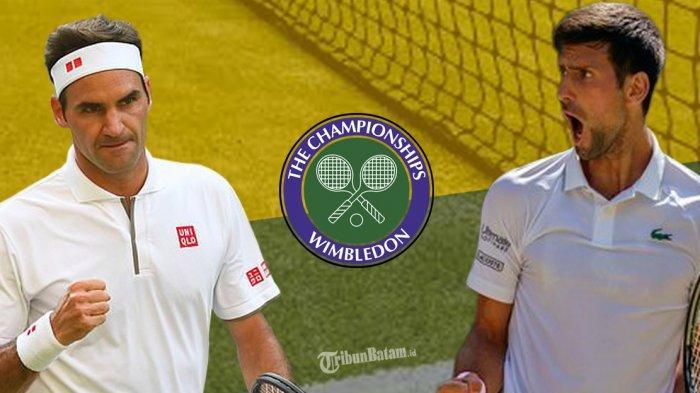 Hasil & Jadwal Wimbledon 2021, Novak Djokovic dan Roger Federer ke Perempat Final Tunggal Putra