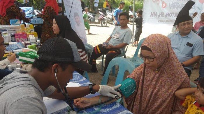 Pemeriksaan Kesahatan Berlanjut, Helmy Ajak Masyarakat Jaga Pola Hidup Sehat