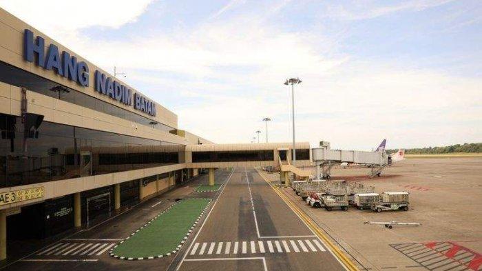 Dampak Corona, Arus Lalu Lintas Angkutan Udara di Bandara Hang Nadim Menurun Selama 2020