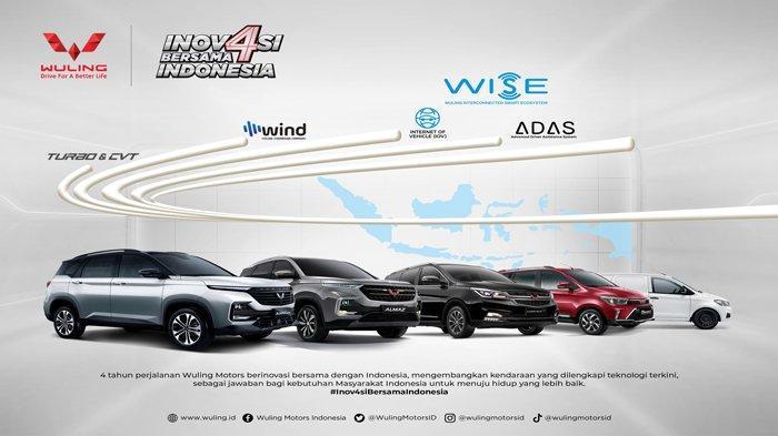 Wuling Hadirkan Inovasi Bersama Indonesia di Tahun Keempat
