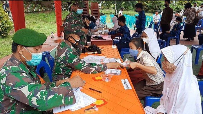 BIN Kepri Gelar Vaksinasi Corona untuk Pelajar dan Door to Door di Tanjungpinang