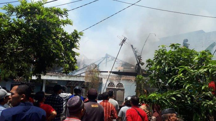 Polsek Bintan Utara Masih Selidiki Penyebab Kebakaran 1 Unit Rumah di Bintan Utara