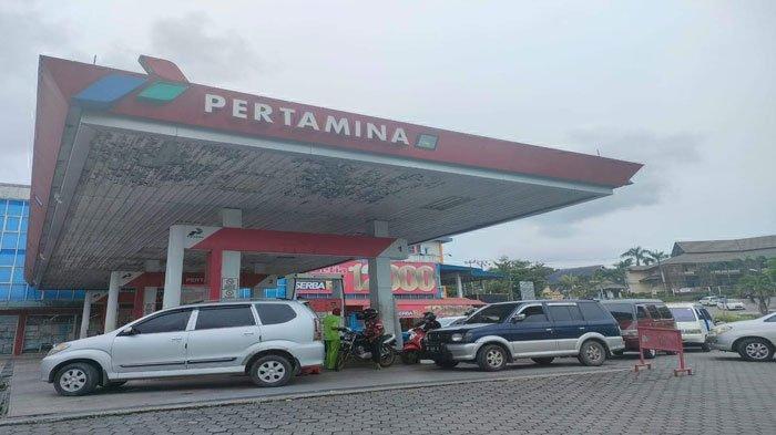 Promo Pertamina Pertalite Harga Rp 6.850, SPBU di Tanjungpinang Dipadati Pengendara