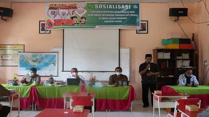 Cegah Korupsi Sejak Dini, Pendidikan Karakter Anti Korupsi Masuk Kurikulum di Natuna