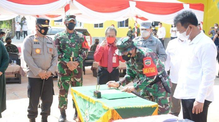 Kapolda Kepri Tutup Tentara Manunggal Membangun Desa di Bulang