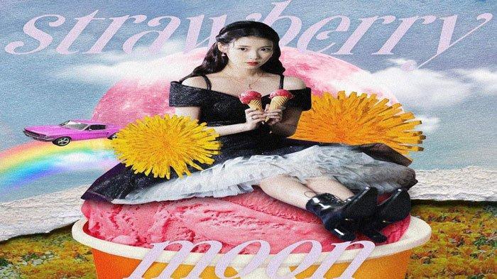Penyanyi Korea IU Siapkan Single Terbaru Strawberry Moon, Bikin Fans Nyaman