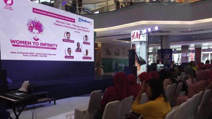 Diskusi Women to Infinity, Ketua DPW PPLPI Kepri : Perempuan Berhak Menentukan Pilihan