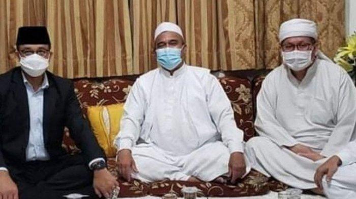 Sikap Diam Anies Baswedan dan Denda Rp50 Juta Disindir Terkait Kerumunan di Acara Habib Rizieq