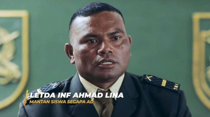 Kisah Letda Inf Ahmad Lina,Jadi Perwira TNI AD Pertama dari SBT, Sempat Naik MRT Bareng Istri KSAD