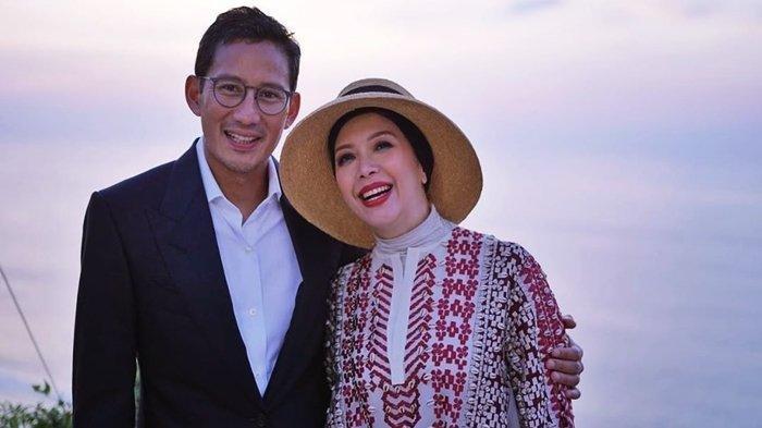 Sandiaga Uno dan Nur Asia