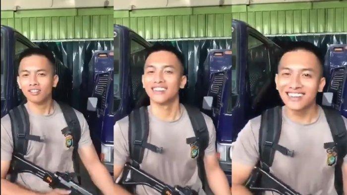 Bripda GAP Polisi Ganteng Pamer Senjata Laras Sambil Ucapkan 'Pacar Kamu Ganteng, Kaya' Diperiksa
