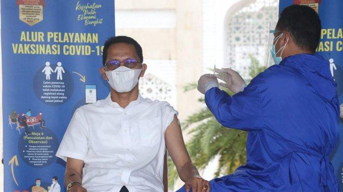 Indra Penciuman tak Berfungsi, Ini Cerita Wakil Walikota Batam Amsakar Achmad saat Tahu Kena Corona