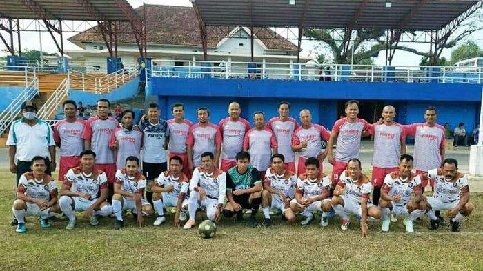Kunjungi Lingga, Old Star Tanjung Jabung Barat Jalin Silaturahmi Bidang Olahraga