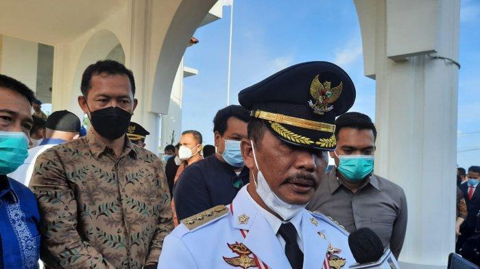Wali Kota Batam Muhammad Rudi seusai dilantik