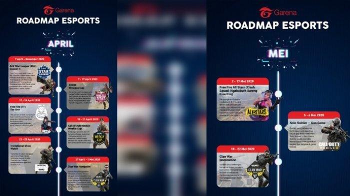 Garena Umumkan Roadmap Esports Guna Dukung #DiRumahAja: Ajak Pengguna Bikin Turnamen