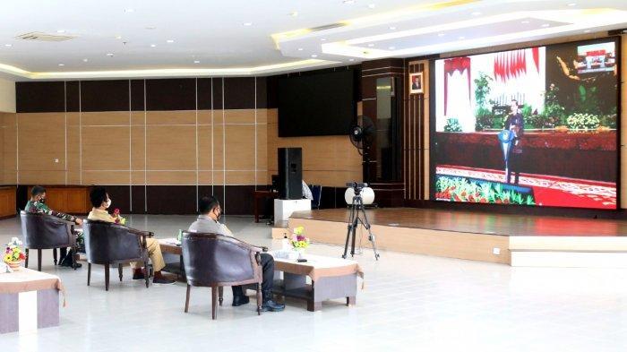 Walikota Batam Hadiri Rakor Hasil Pilkada 2020 Bersama Presiden, Jokowi: Jangan Cuma Tunggu Laporan!