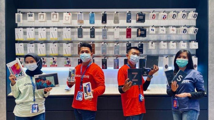 Harga HP Samsung Galaxy A Series di Samsung Exclusive Store Grand Batam Mall, April 2021