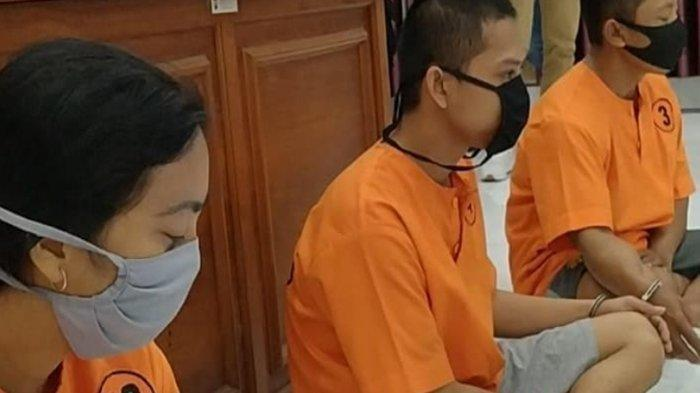 Pasutri asal Kota Kediri yang melayani prostitusi swinger dan threesome diperiksa kejiwaannya