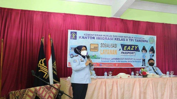 Layanan Eazy Passport di Anambas, Imigrasi Gelar Sosialisasi Sasar Pegawai Instansi