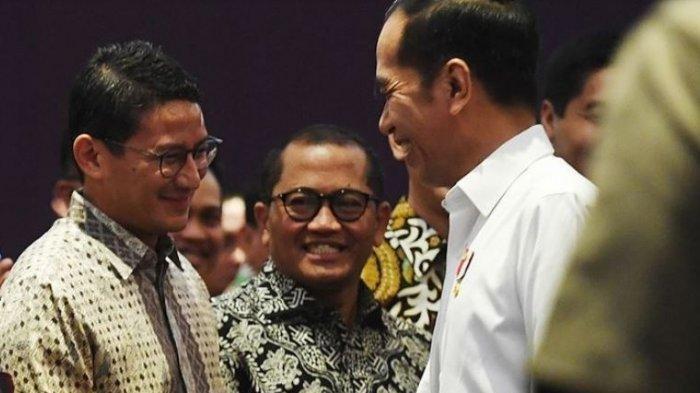 Ditunjuk jadi Menparekraf, Ini Arahan Presiden Jokowi ke Sandiaga Uno