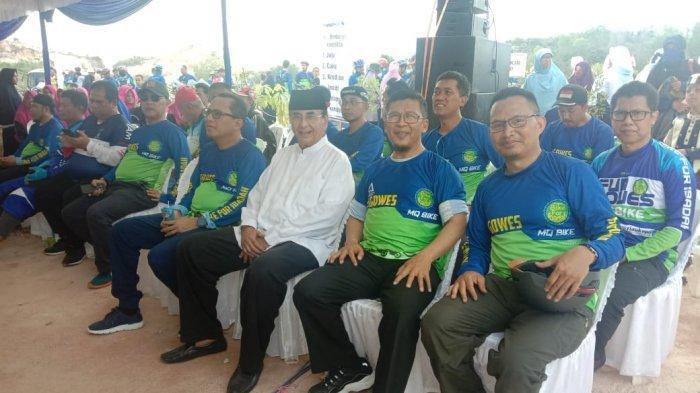 Hadiri Peresmian SMP Boarding School Daarut Tauhiid Batam, Ismeth Abdullah Kangen Ustadz Aa Gym