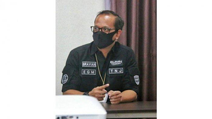 Executive General Manager (EGM) PT Angkasa Pura II Bandara Raja Haji Fisabilillah (RHF) Tanjungpinang, Bravian Bambang