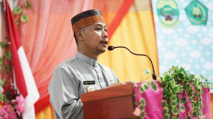 Wakil Bupati Lingga Neko Wesha Pawelloy Buka Rakerda LPTQ ke IX, Ini Harapannya