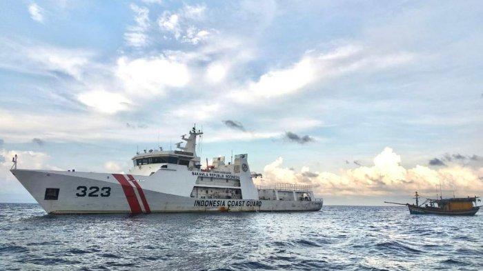 Kapal Vietnam Ditangkap Bakamla, Curi Ikan 300 Kilo di Perairan Natuna