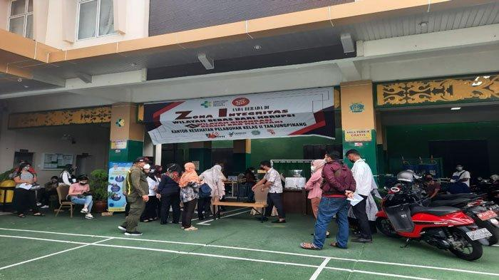 Update Capaian Vaksinasi Covid-19 dan Stok Vaksin di Tanjungpinang per 19 Agustus 2021