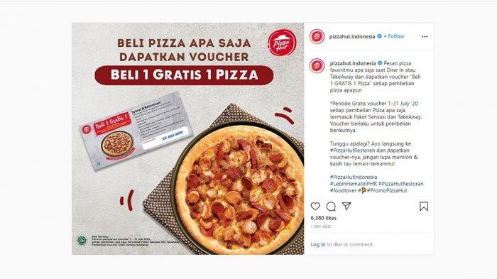 GRATIS Ongkir hingga Diskon 50 Persen, Simak Yuk Promo Pizza Hut Batam hingga 26 Juli