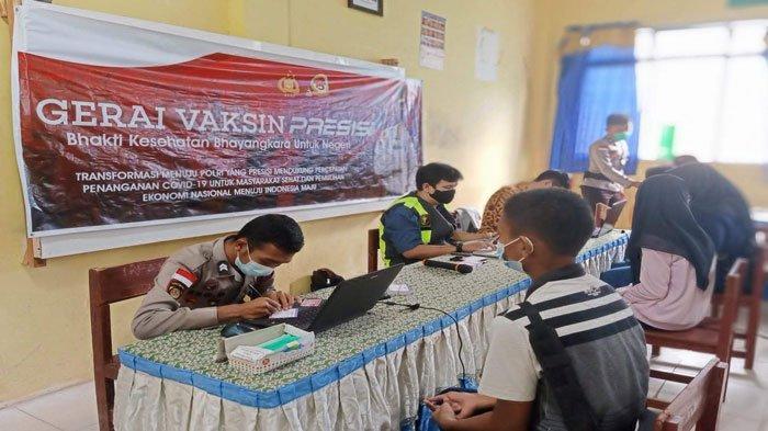 Vaksinasi Corona di Kepri, Polres Natuna Siapkan Gerai Vaksin Presisi Besok