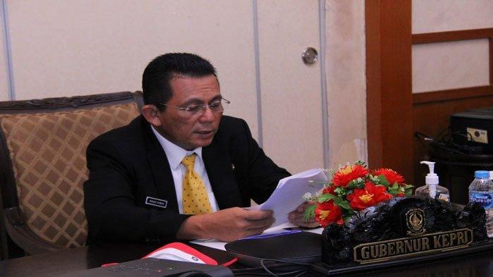 Gubernur Kepri Sambut Mahasiswa Baru Politeknik Negeri Batam secara Virtual