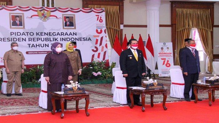Pidato Kenegaraan Jokowi Hari Ini Diikuti Gubernur dan Wagub Kepri secara Virtual