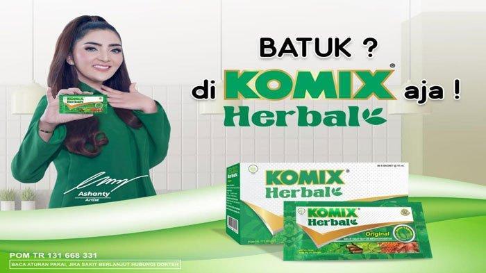 Komix herbal jahe merah