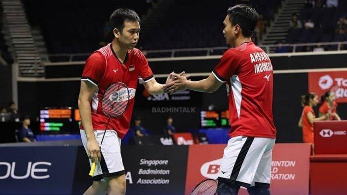 Hasil Malaysia Master 2020 - Kalahkan Ganda Taiwan, Hendra/Ahsan Lolos ke Semifinal