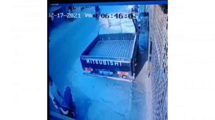 TEREKAM CCTV, Pencurian Handphone di Bengkong Indah Swadebi Batam, Pelaku Bawa Senjata Tajam