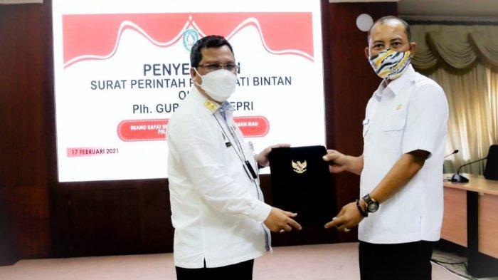 Sekda Bintan Adi Prihantara Jabat Plh Bupati Bintan, Ini Kata Plh Gubernur Kepri