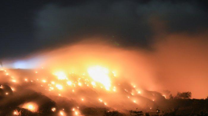 Hari Kedua Lahan di TPA Punggur Batam Terbakar, Api Sulit Dipadamkan, Butuh Waktu 2 Bulan?