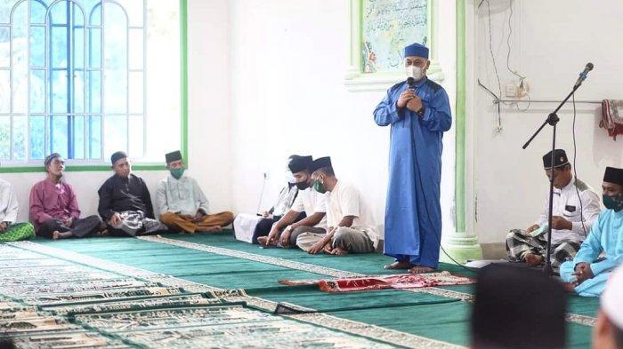 Safari Ramadhan Bupati Lingga ke Desa Sungai Besar, Ajak Masyarakat Perbanyak Zikir