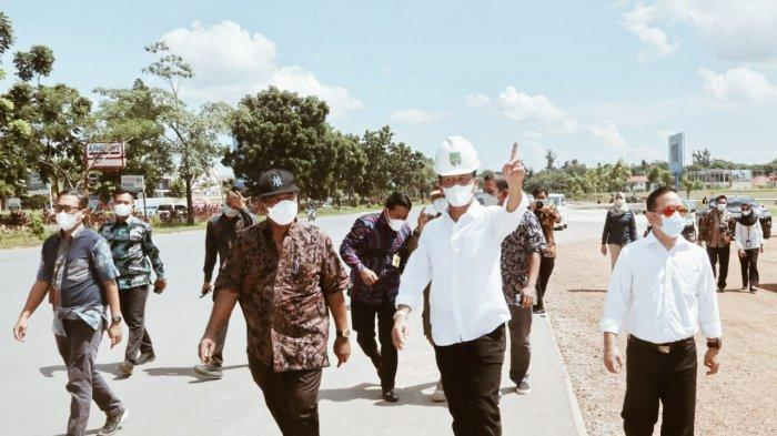 Sudah Bersih dari Pedagang Kaki Lima, Walikota Batam Kunjungi Simpang Tembesi dan Basecamp