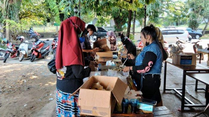 PPKM Darurat, ASPEC Tanjungpinang Bagikan 1076 Nasi Kotak Bagi Pasien Isolasi Mandiri