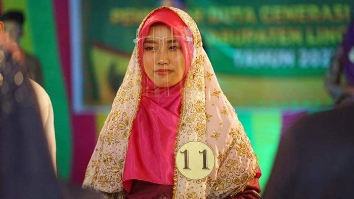 Muthiah Raihana Corana Raih Juara Pertama Duta GenRe Putri Lingga 2021