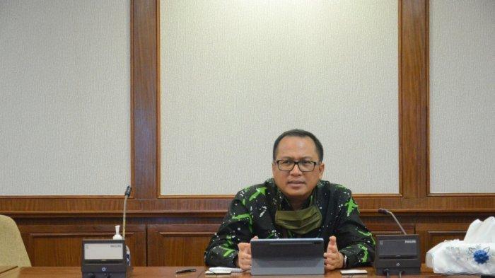 Kepala Kantor Perwakilan Bank Indonesia Kepri, Musni Hardi K Atmaja. Ia memberikan tanggapannya terkait dampak resesi Singapura bagi Kepri