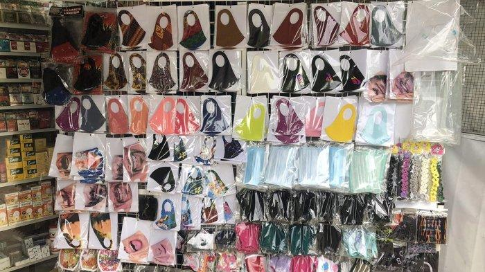 Dianggap Tak Aman, Masker Scuba Masih Tetap Laris di Pedagang Kaki Lima di Batam