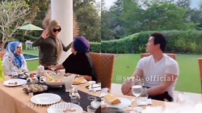 Pertemuan Syahrini & Tante Reino Barack Disorot, Rosita Barack Istri Konglomerat Pemilik Stasiun TV