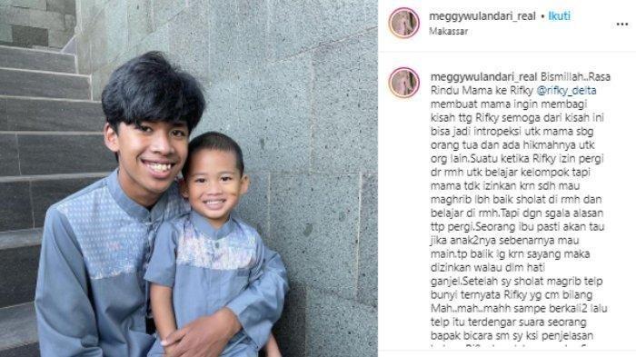 Meggy Wulandari Syok saat Anaknya Kecelakaan, Motor Mental hingga Tabrak Tiang Listrik: Istigfar