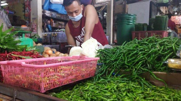 Harga Cabai dan Bawang Merah di Batam Naik, Pedagang di Pasar Botania Mulai Pusing